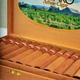 Bavaro Arbaje cigar box